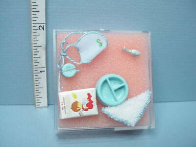 Miniature Infant Quilt Pk /& Wh Star Design #ALS032AC Handcrafted Alice Lacy