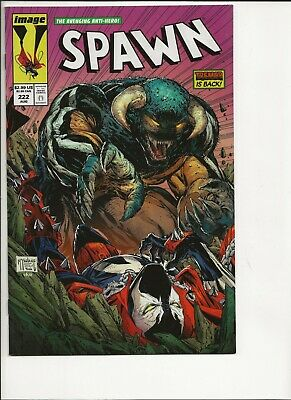 SPAWN #222 VF/NM Amazing Spider-Man 316 homage cover, actual scan