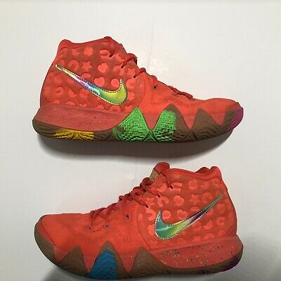 """hot sale online 83194 0e7d2 NIKE KYRIE 4 """"Lucky Charms"""" : Size 7.5"""