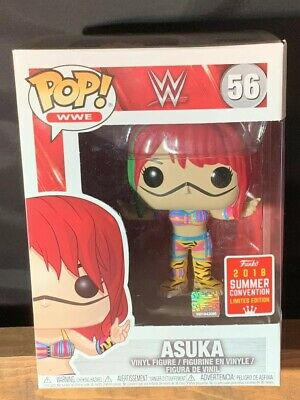 Funko Pop! WWE Asuka 56 Summer Convention Target Shared Exclusive