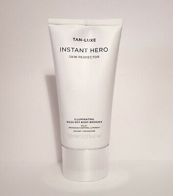 Tan Luxe Instant Hero Skin Perfector Illuminating Wash Off Body Bronzer 150ml
