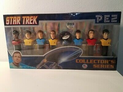 Star Trek TOS Pez Collectors Series New Limited edition New