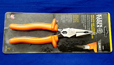 Klein Tools 12098-INS Insulated Universal Side Cutting+CrimpinConnector Pliers