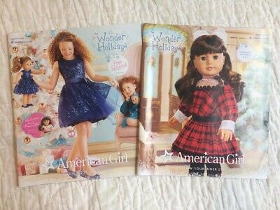 American Girl Doll Catalogs 2014 Winter Holiday w/ *Samantha* Great Condition!