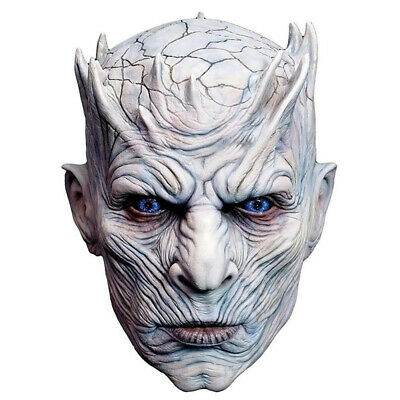 Halloween Night King Ghost Mask Men Creepy Mask Movie Party White Walkers Mask