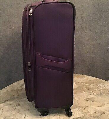 24 Inch Rolling Expandable 4 Wheel Spinner Luggage