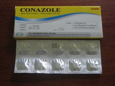 conazole vaginal thrush fungicide 10 x 200mg oral tablets yeast infection