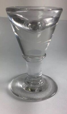 Antique Victorian c1860 Carnival Genuine Penny Lick Glass Ice Cream Cone