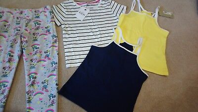 Girls bundle vests top 7-8 years m&s new & mini mouse YD