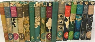 Bundle of 16 New Naturalist British Natural History books some First Editions