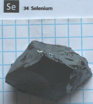 148.21 gram 99.99% Selenium Metalloid Nugget - Pure element 34 sample