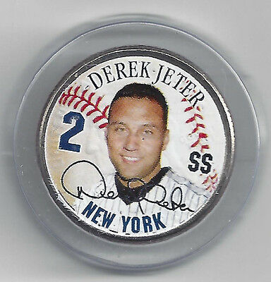 Legends Colorized New York Quarter Gold Plated Coin BABE RUTH Hall of Fame