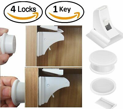 Invisible Child Baby Safety Magnetic Lock Pet Kid Proof Cupboard Door Drawer Set