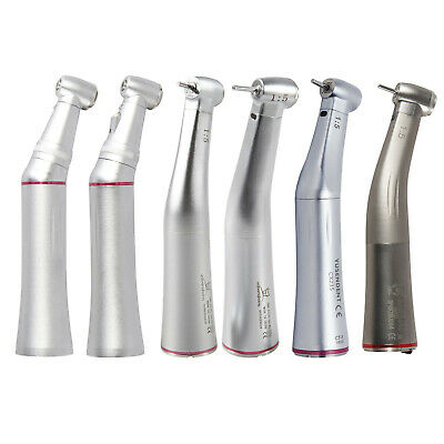 Dental 1:5 Increasing(LED)Contra Angle Handpiece inner spray water fit Kavo NSK