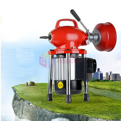 """3/4""""-4""""Dia Sectional Drain Cleaner Machine Professional Sewage Cleaning Machine"""