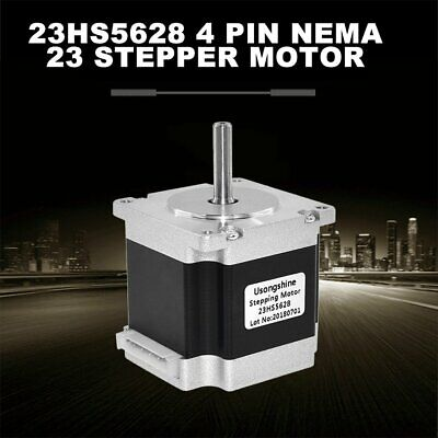 23HS5628 4-lead Nema 23 Stepper Motor 2.8A With 6.35mm Shaft Stepper Motor ##