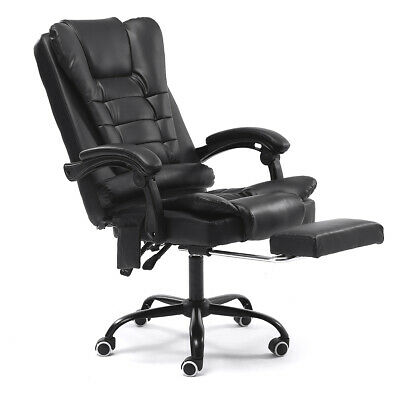 Executive Office Massage Chair PU Leather Recliner Computer Gaming Seat Chairs