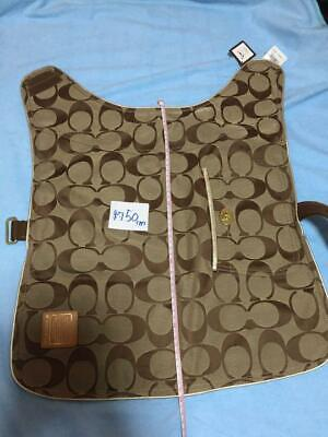 COACH Authentic Dog Coat Jacket Size L Length about 19.68 inches New Unused