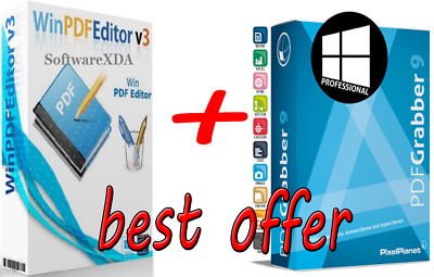 2019 Pro PDF Creator Editor Reader Viewer Converter For Windows 7 8 10 Download