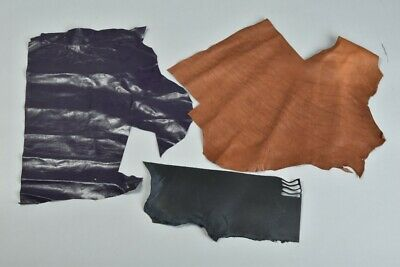 Cordwainer's Old Stock of Outstanding Quality Leather Samples.  SDC