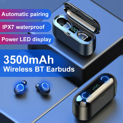 Wireless Bluetooth 5.0 Headphones For Apple iPhone 7 8 X XR XS & Charger Case