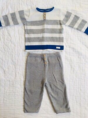 Catimini Baby Boy Bundle 9 Months Jumper Trousers