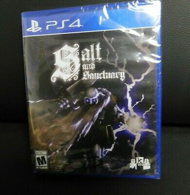 Salt and Sanctuary PS4 Limited Run Games.