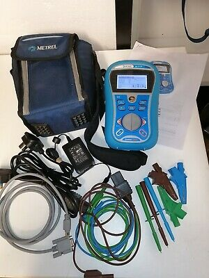 Metrel MI3125 Eurotest Combo Multi Function calibrated Tester 18th Edition