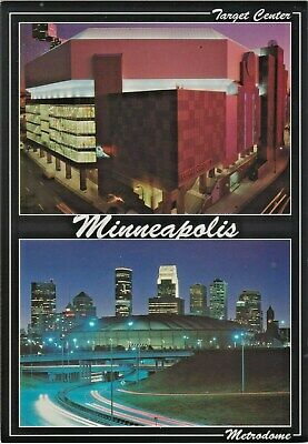 Target Center Arena (NBA) & Metrodome Stadium (MLB & NFL) Minneapolis, Minnesota