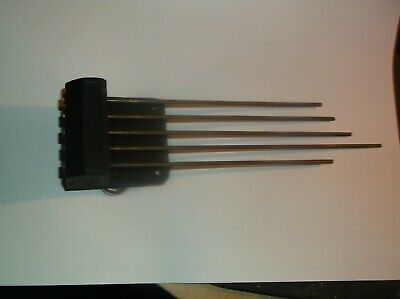 5 FORK CHIMES  FROM AN OLD  MANTLE CLOCK   REF pam 23