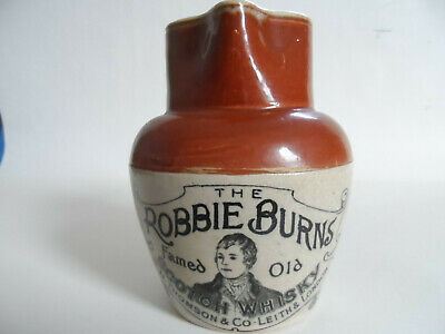 The  Robbie  Burns  Scotch  Whisky  Water  Jug  Leith  &  London