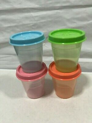 Tupperware Midgets Set (4)  - NEW, FREE INTERNATIONAL SHIPPING