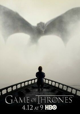 GAME OF THRONES TV Show PHOTO Print POSTER Series Art Artwork Dragon Stark 012
