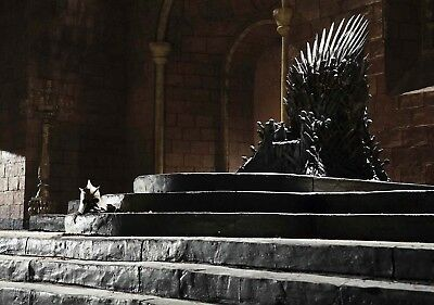 GAME OF THRONES TV Show PHOTO Print POSTER Art Throne Chair Eddard Ned Stark 004