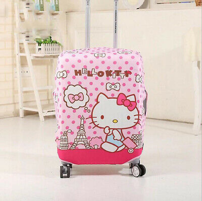 Hello Kitty Travel Luggage Cover Protector Suitcase Dust Proof Anti Scratch Bag