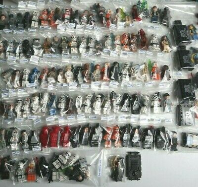 LEGO Star Wars Figurines (116 minifigs) 100% LEGO OFFICIEL