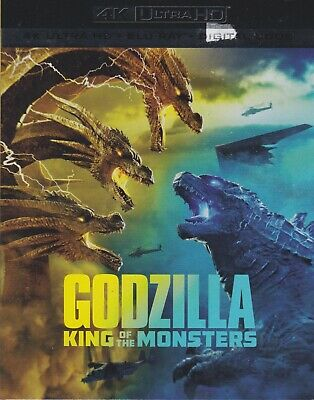 GODZILLA KING OF THE MONSTERS 4K ULTRA HD & BLURAY & DIGITAL SET with Ziyi Zhang