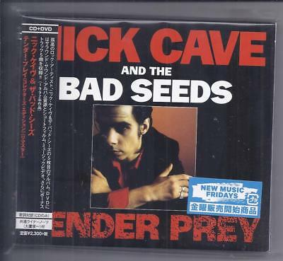NICK CAVE and the BAD SEEDS Tender Prey 2 discs JAPAN cd thick digipak cd + dvd
