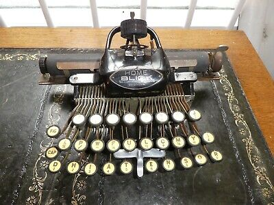 Blickensderfer Antique Typewriter The HOME BLICK Very Cute & Stylish! 1892