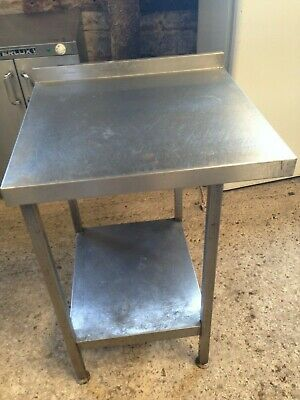 Stainless Steel Kitchen Catering Food Preparation Shelf Table