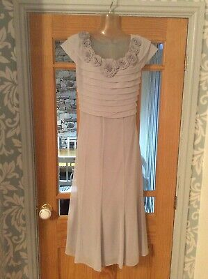 Jaques Vert Silver Grey Special Occasion Mother Of The Bride/Groom  Dress Nwt 20