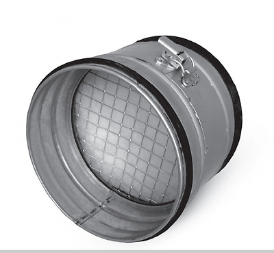 Air Filter Spiral Ducts, Pipe Einbaufilter Air Filter Exhaust Air Supply