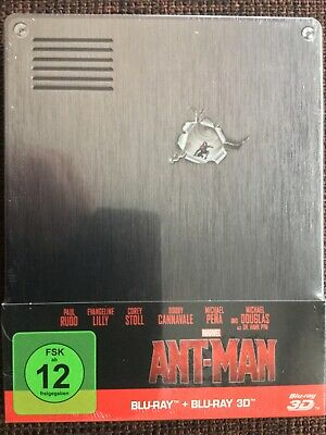 ANT-MAN 2D/3D Limited exclusive Blu-ray Steelbook MARVEL Avengers WASP Stan Lee