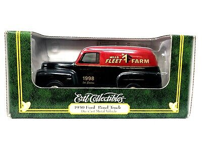 1998 Ford Panel Truck, Die-Cast Metal, Still Bank, Ertl