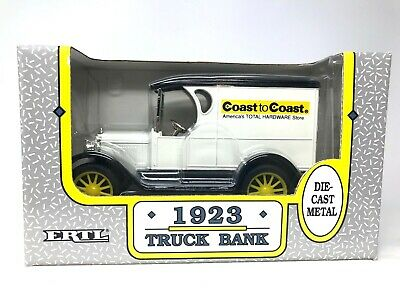 1923 Truck Bank, Coast to Coast, Die-Cast Metal, Ertl