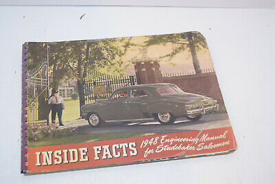 Vintage 1948 Studebaker Inside Facts - Salesman Booklet