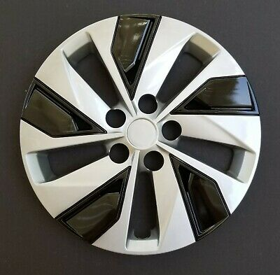 """One New Wheel Cover Hubcap Fits 2019-2020 Nissan Altima 16"""" Silver / Black"""