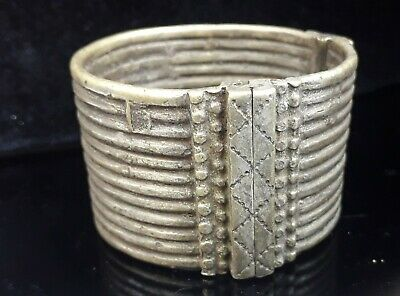 Antique jewelry. Ethiopian Ethnic Amhara Bracelet hand crafted. Ethiopia