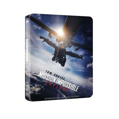 Mission Impossible- Fall Out [Blu-ray Steelbook - U Mania]