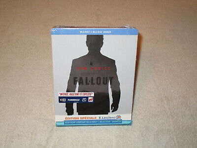 Mission Impossible : Fallout [Blu-ray + BD Bonus Steelbook - Edition Leclerc]